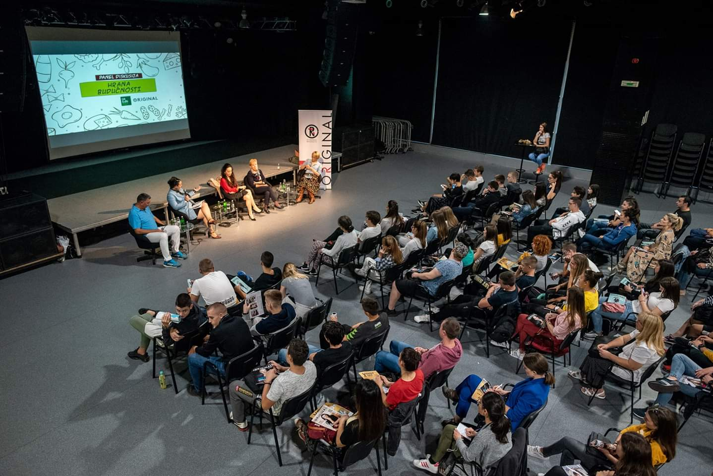 """Predstavnica Fakulteta za primenjenu ekologiju Futura učesnica panel diskusije """"Hrana budućnosti"""" u okviru Green Fest-a"""